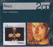 Ákos - TEST/INDIÁNTÁNC 2CD ÁKOS