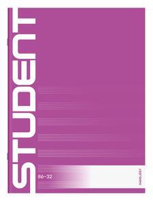 7500069003 - ICO STUDENT FÜZET HANGJEGY 86-32 A/4
