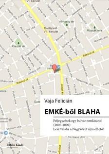 Felícián Vaja - EMKÉ-ből Blaha [eKönyv: pdf, epub, mobi]