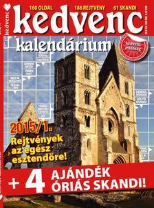 CSOSCH KIADÓ - Kedvenc Kalendárium 2015/1.