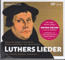 BACH, PRAETORIUS, BUXTEHUDE - LUTHERS LIEDER 2CD FRIEDER BERNIUS