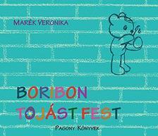 MARÉK VERONIKA - Boribon tojást fest