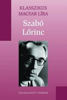 Lőrincz Szabó - Szabó Lőrinc versei [eKönyv: epub, mobi]