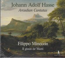 HASSE JOHANN ADOLF - ARCADIAN CANTATAS CD IL GIOCO DE' MATTI