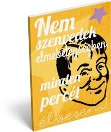 12396 - Notesz papírfedeles A/7 Humor Elmebetegség 16505002