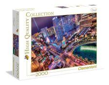 .- - Clementoni Puzzle 2000 Las Vegas