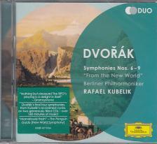 DVORAK - SYMPHONIES NOS.6-9, 2 CD