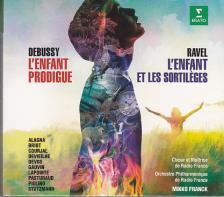DEBUSSY, RAVEL - L'ENFANT PRODIGUE - L'ENFANT ET LES SORTILÉGES 2CD MIKKO FRANCK