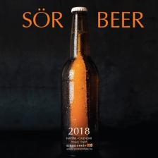 SZÁZSZORKÉP KIADÓ - SÖR 2018 - NAPTÁR - 22X22