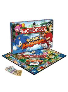 Winning Moves UK Ltd. - Monopoly Sonic