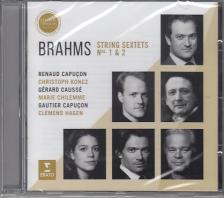 BRAHMS - STRING SEXTETS NOS. 1 & 2 CD RENAUD & GAUTIER CAPUCON, KONCZ, CAUSSÉ