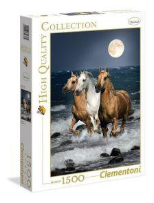 NINCS SZERZŐ - Clementoni Puzzle 1000 Vágtázó lovak
