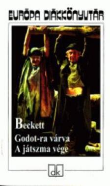 BECKETT - GODOT-RA VÁRVA - A JÁTSZMA VÉGE - EURÓPA DIÁKKÖNYVTÁR