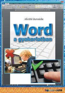 BÁRTFAI BARNABÁS - Word a gyakorlatban
