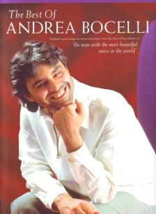 - THE BEST OF ANDREA BOCELLI FOR TENOR AND PIANO FROM THE BEST-SELLING ALBUMS