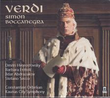 Verdi - SIMON BOCCANEGRA 2CD HVOROSTOVSKY