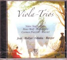 JUST,HOLZER,GLINKA,BERGER - VIOLA - TRIOS CD NAGY VIDOR