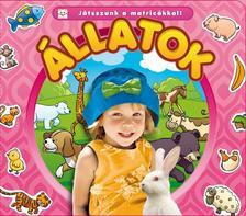 Agnieszka Bator - Játsszunk a matricákkal! - Állatok