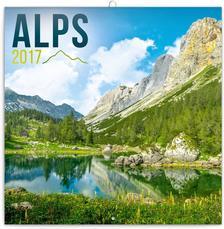 SmartCalendart Kft. - PG Alps, grid calendar 2017, 30 x 30 cm