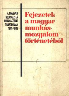 Kende János, Borsányi György - Fejezetek a magyar munkásmozgalom történetéből [antikvár]