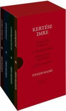 KERTÉSZ IMRE - Kertész Imre művei díszdobozban