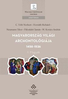 - Magyarország világi archontológiája 1458-1526