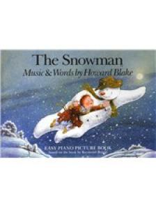 THE SNOWMAN - MUSIC & WORDS BY HOWARD BLAKE -EASY PIANO BOOK BY RAYMOND BRIGGS