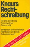 - Knaurs Rechtschreibung [antikvár]