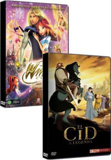 - EL CID - A LEGENDA + WINX AZ ELVESZETT KIRÁLYSÁG TITKA  DVD