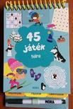 45 játék télre - rejtvények, fejtörők, labirintusok<!--span style='font-size:10px;'>(G)</span-->