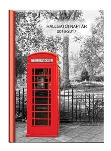Kalendart Kiadó - HALLGATÓI NAPTÁR - A5 MÉRETŰ -  HETI BEOSZTÁSÚ- TELEFONFÜLKE