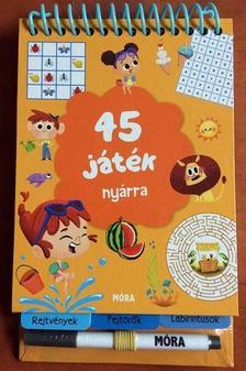 - 45 játék nyárra - rejtvények, fejtörők, labirintusok