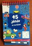 45 játék az autóban - rejtvények, fejtörők, labirintusok<!--span style='font-size:10px;'>(G)</span-->