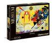- Clementoni Puzzle 1000 Kandinsky - Sárga piros kék