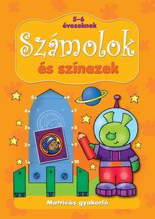 Anna Podgórska - Matricás gyakorló. Számolok és színezek 5-6 éveseknek