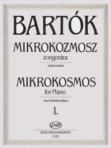 Bartók - MIKROKOZMOSZ ZONGORÁRA 1., JAVÍTOTT KIADÁS (BARTÓK PÉTER)