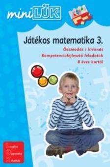 - LDI-220 JÁTÉKOS MATEMATIKA 3. /MINI-LÜK/