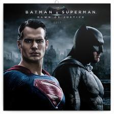 SmartCalendart Kft. - PG Batman v Superman, grid calendar 2017, 30 x 30 cm