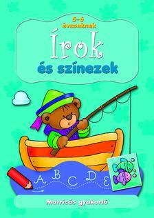 Anna Podgórska, Bárczi László - Matricás gyakorló. Írok és színezek 5-6 éveseknek