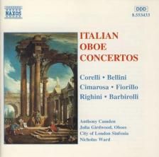 CORELLI, BELLINI, CIMAROSA - ITALIAN OBOE CONCERTOS CD CAMDEN, GIRDWOOD, WARD, CITY OF LONDON SINFONIETT