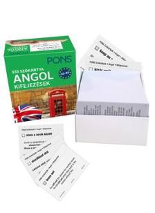 . - Pons Szókártyák Angol Kifejezések 333 Szó A2-B2