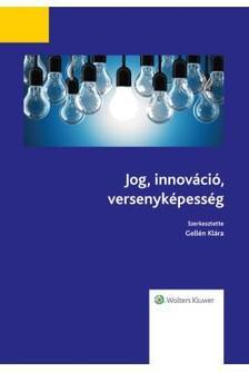 Jog, Innováció, versenyképesség
