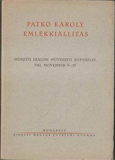 Csóka Lajos - Patkó Károly emlékkiállítás [antikvár]