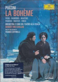 Puccini - LA BOHEME / KARAJAN -  ZEFIRELLI  DVD