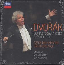 DVORAK - COMPLETE SYMPHONIES&CONCERTOS,6 CD