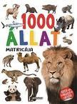 - 1000 állat matricája - Fehér