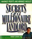 SHEMIN, ROBERT - secrets of a Millionaire Landlord [antikvár]