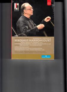 MOZART, HAYDN - SALZBURG FESTIVAL - OVERTURE SPIRITUELLE 2DVD NIKOLAUS HARNONCOURT