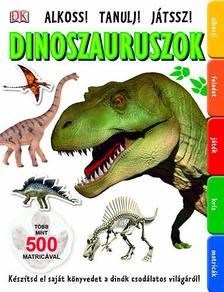 - Dinoszauruszok - 500 matricával