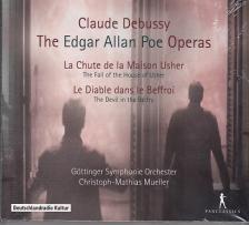 DEBUSSY - THE EDGAR ALLAN POE OPERAS 2CD CHRISTOPH-MATHIAS MUELLER